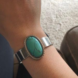 H&M Turquoise Cuff